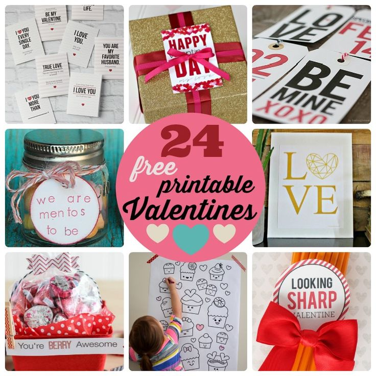printable valentine's