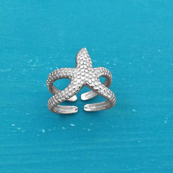 Starfish Ring - Sterling Silver