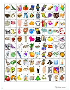 100th Day Activities for the Spanish or Bilingual Classroom by Sue Summers. Useful activities for all year, and pictures & grids can be used for all languages.
