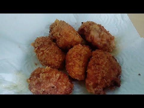 KFC Usulü Çıtır Tavuk Tarifi Kemiksiz Çıtır Tavuk Topları Evde Nasıl Yapılır - Harika Ev İşleri