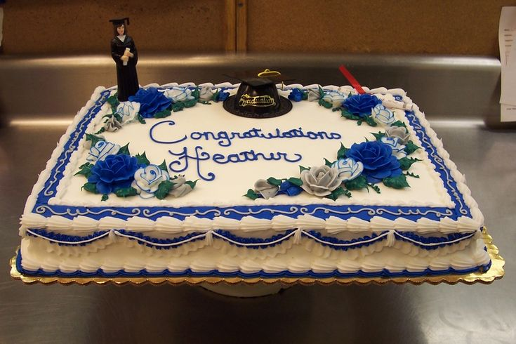 graduation sheet cakes pictures | college grad sheet cake
