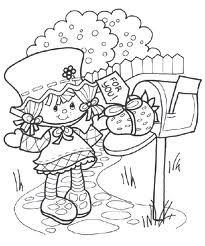 original strawberry shortcake coloring pages | 17 Best images about Crafty (80's Strawberry Shortcake ...