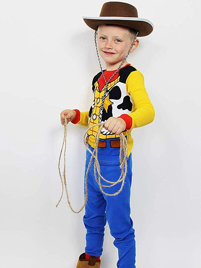 Disney Toy Story 4 Woody Toddler boys girls One piece sleeper costume pajamas