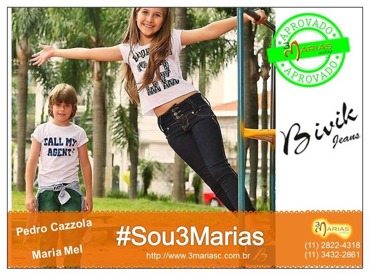 Pedro Cazzola e Maria Mel para Bivik Jeans.