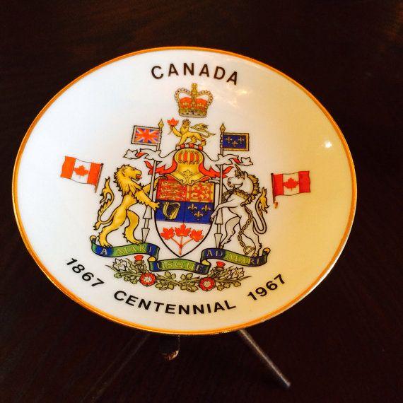 Canadienne, plaque Souvenir d