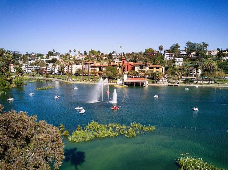 Untitled. Location: Echo Park Los Angeles : DJI Mavic Pro  #dji #mavic #pro #djimavic #drone #city #lake #park #dronestagram #palmtrees #shadow #discovererdrone #dronephotography #echopark #echoparklake #losangeles #la #california #ca #usa #conquer_la #agameoftones #dronestagram #dronefly #nikcollection