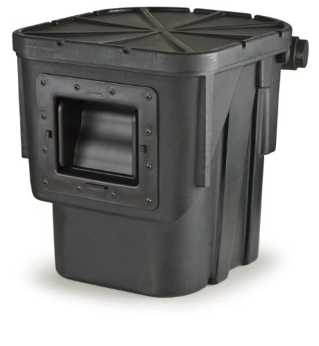 Atlantic Water Gardens Pond Skimmer with 6Inch Weir Door Net  Filter Mat Lifetime Warranty * Details can be found by clicking on the image.
