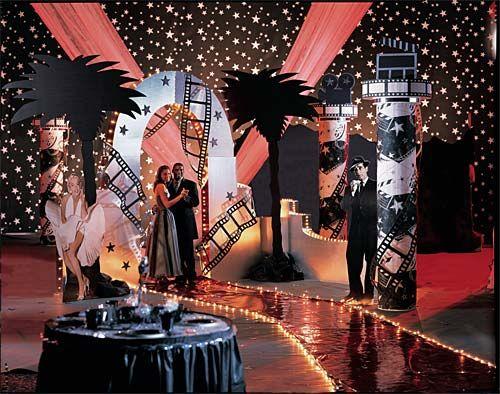 prom decor red carpet affair prom decorating ideas. Black Bedroom Furniture Sets. Home Design Ideas