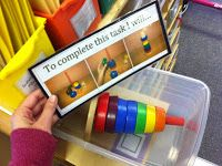 Best of 2014- TEACCH Task Boxes. Independent work task boxes for students with autism and special needs. early childhood