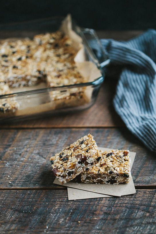 Chewy Almond Butter Bars