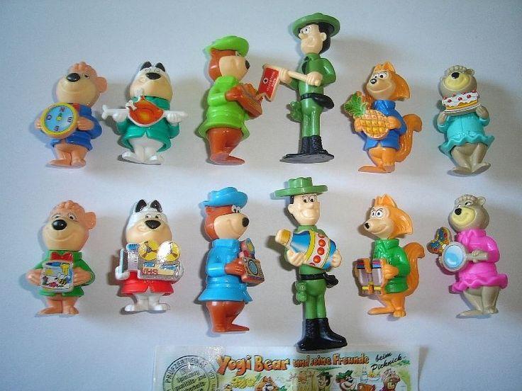 Yogi Bear 1996 Kinder Surprise Figures Set Hanna Barbera Figurines Collectibles   eBay