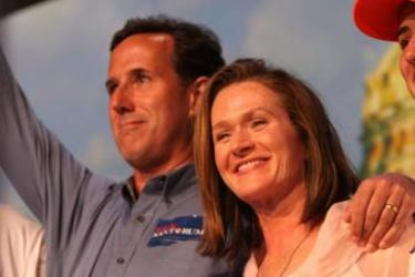 "the santorums think you should die giving birth, if that's ""god's plan"" for you....yes, YOU, not karen santorum! they also think that extramarital sex and birth control are not only wrong but should be made ILLEGAL...once again, for YOU. of course when karen was a pro-choice 20-something shacking up with her 60-something boyfriend, *that* was different... these people are sick. they are the polar opposite of christ-like, they are hypocrites, they want to send this country back to the STONE…"