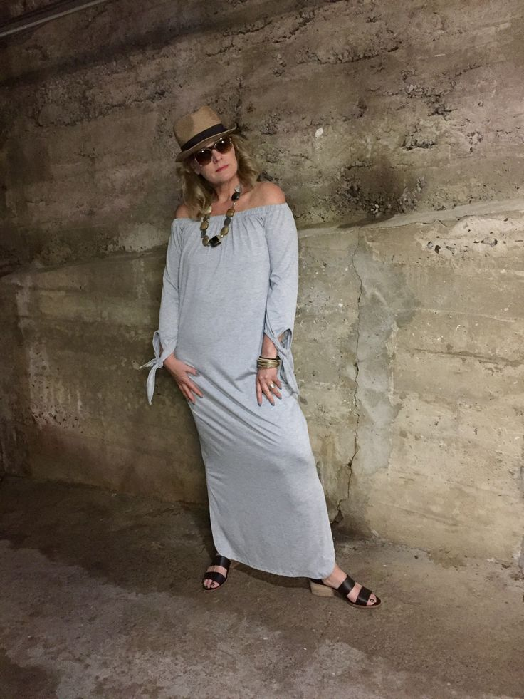 $15 Dress Feature #OOTD – the f-word paradox Shein, off shoulder maxi dress