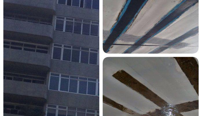 Reforço de Laje de Apartamento - Mudança de sobrecarga de utilização - Fibra de Carbono
