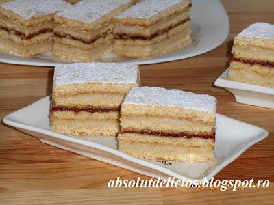 Absolut Delicios - Retete culinare: PRAJITURA ALBINITA (DULCINEEA)