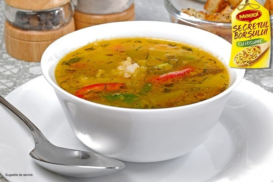 Chicken soup with pickled peppers // Ciorba de pui cu gogosari murati -> https://www.facebook.com/photo.php?fbid=374527159287380=a.365257290214367.82687.287189181354512=3=1