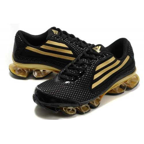 Adidas Bounce 2012 Titan Mens Black Gold Hypermotion - Click Image to Close