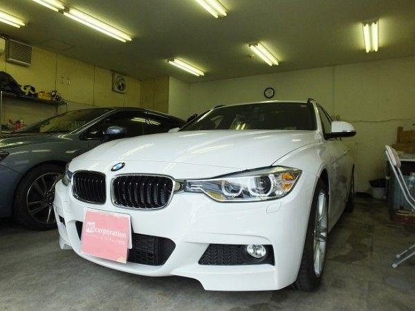 BMW 3シリーズ 99%UVカット ルミクールSD 透過率13% カーフィルム 施工