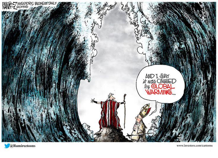 Michael Ramirez Cartoon 06/01/2015 - Global Warming
