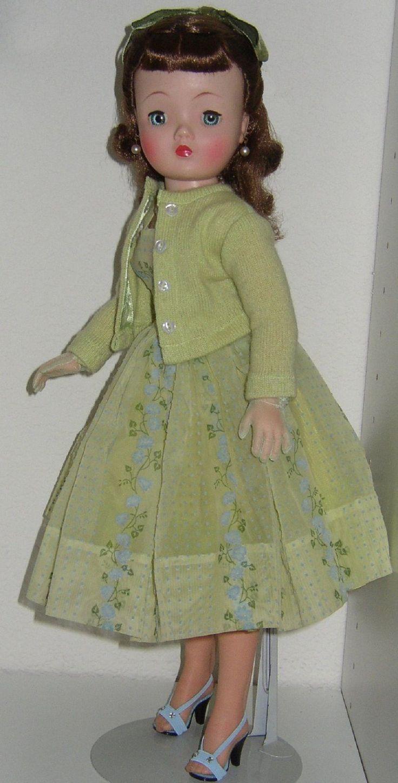 Beautiful Cissy Doll in Her Dress Slip Panties Sweater Panties Nylons Bow   eBay