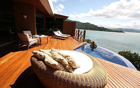 Ponta dos Ganchos Resort, Florianópolis, Brazil.