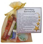 Secretary Survival Kit Gift - New job, PA gift, Secret santa office gift for colleague