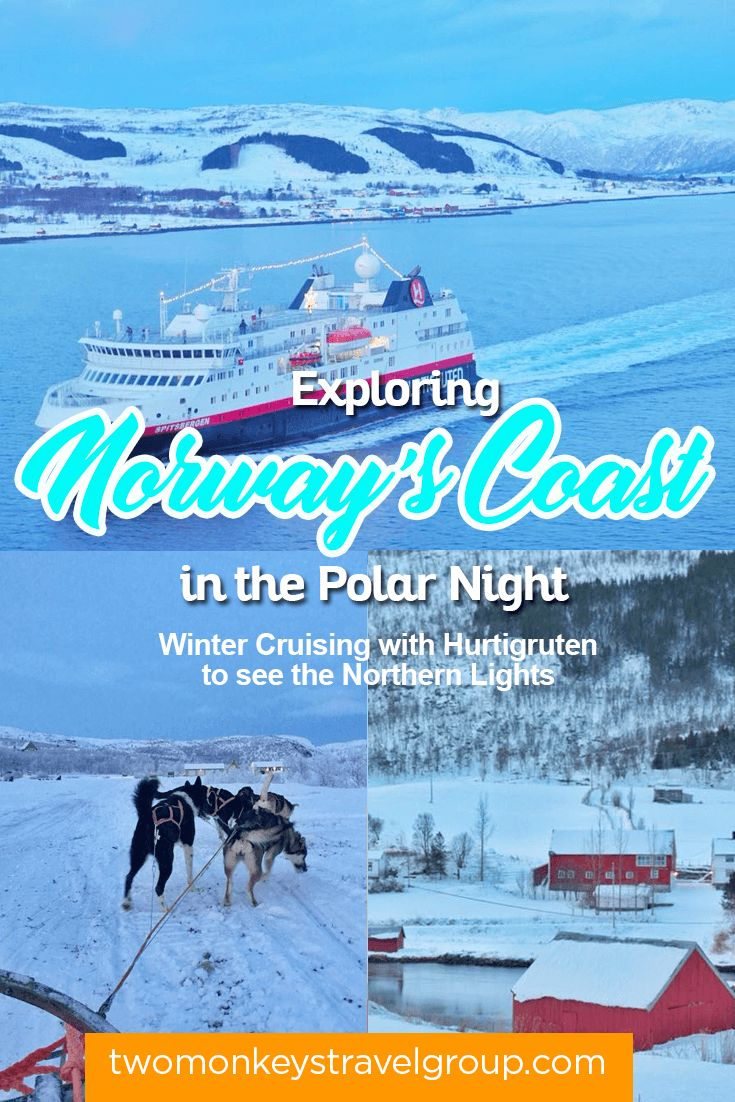 Exploring Norway's Coast in the Polar Night for our 100th Country - Winter Cruising with Hurtigruten to see the Northern Lights