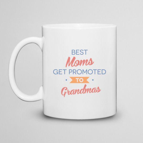 Best Moms get promoted - kubek 330ml w artiglo na DaWanda.com