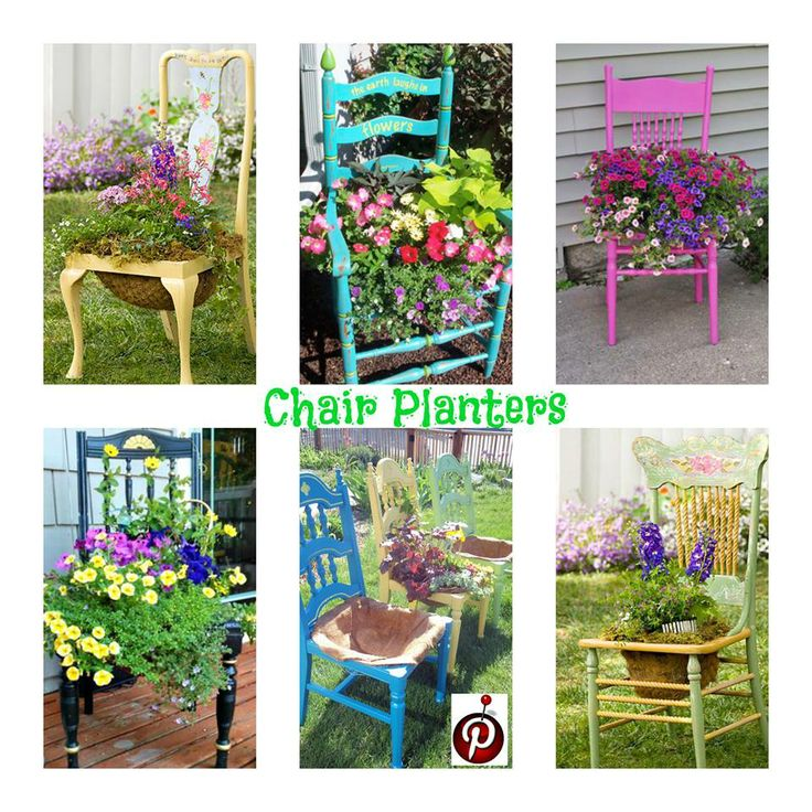 Planters Chairs: 189 Best Images About CHAIR PLANTERS On Pinterest