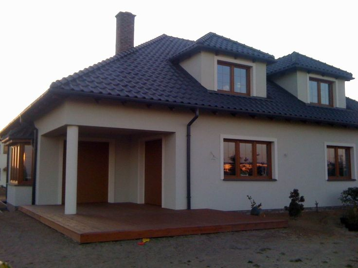Taras projektu Zacisze 2  #projekt #dom #budowa
