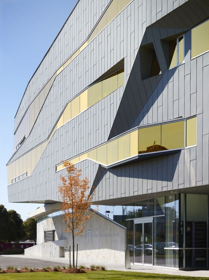 Stephen Hawking Centre at the Perimeter Institute for Theoretical Physics located in Waterloo, Ontario, Canada by Teeple Architects