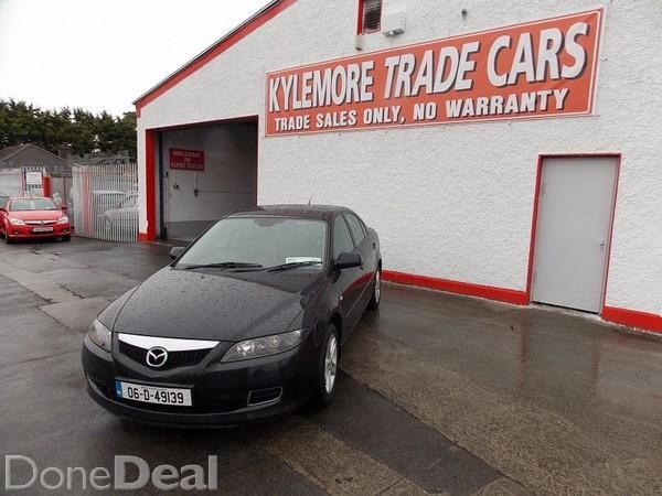 Mazda 6 NCT 05/1606 MAZDA 6 4DR 1.8 TOURING MODEL NCT 05/16 WITH ALLOYS,LEATHER,CRUISE CONTROL,E/W,E/M,AIR CON,ARM REST,REMOTE C/L AND CD PLAYER.!!!!!!!! DRIVING BUT ENGINE NEEDS ATTENTION HENSE PRICE!!!!!!!NO TXTS OR SWAPSFOR DIRECTIONS SEE MAP BELOW!!!!!!!CALL JONATHAN 014600616 / 0873460807 06 (2006)Last updated: 23/07/2015#xtor=CS1-41-[share]