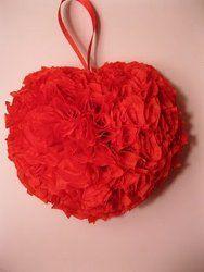 valentines rose petals