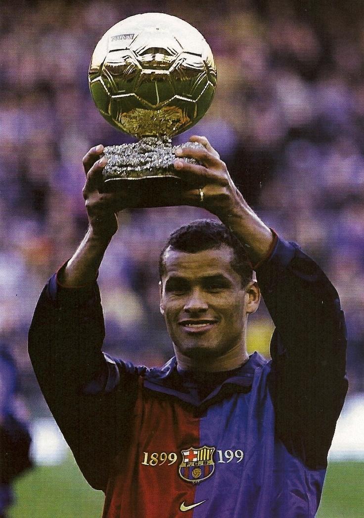 Rivaldo, la Pilota d'Or de 1999