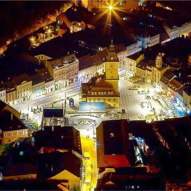 Brasov City, the Carpathians, Romania