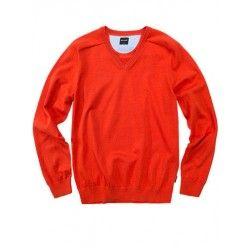 Olymp Cashmere trui oranje 0161.10.84
