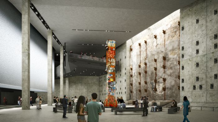 An Early Peek At The 9/11 Museum At Ground Zero