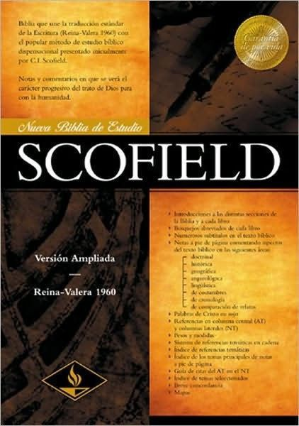 Biblia de Estudio Scofield RVR 1960, Enc. Dura (RVR 1960 Scofield Study Bible, Hardcover)