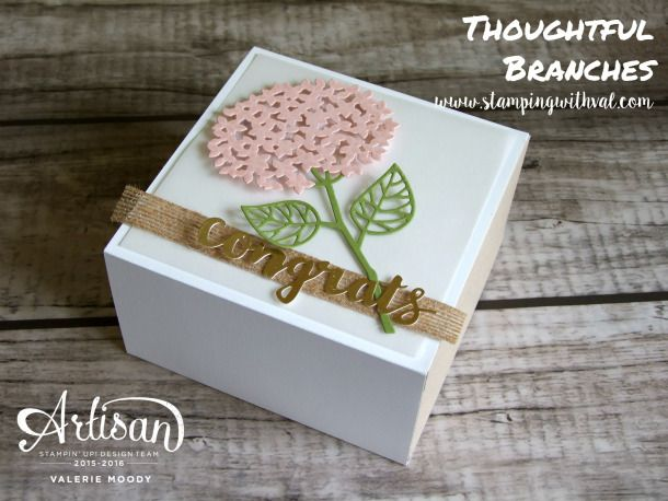 Follow this link back to see all of the fun projects from the Stampin' Up! Artisan Design Team using the exclusive, limited-time, Thoughtful Branches Bundle! #stampinup #artisandesignteam #thoughtfulbranches