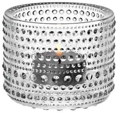 Kastehelmi Candle holder Transparent by Iittala - Design furniture and decoration with Made in Design