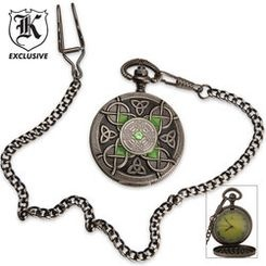 $20 Celtic Pocket Watch at BudK: Pockets Watches, Color, The Faces, 20 Celtic, Pocket Watches, Celtic Knot, Celtic Jewelry, Epic Pockets, Celtic Pockets