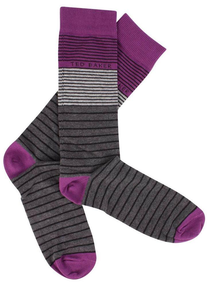 Socks   Grey Ted Baker Socks   @ KJ Beckett - Only £8.50!