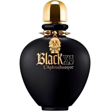 Black XS L'Aphrodisiaque pour Elle PACO RABANNE 2013 (Feuille de capucine, néroli, orange de Séville - Rose, pêche, datura - Ambre gris, vanille, mandragore)