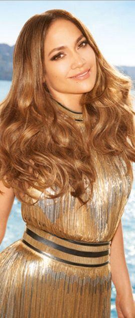 Who made Jennifer Lopez's gold fringe dress? Dress – Versace