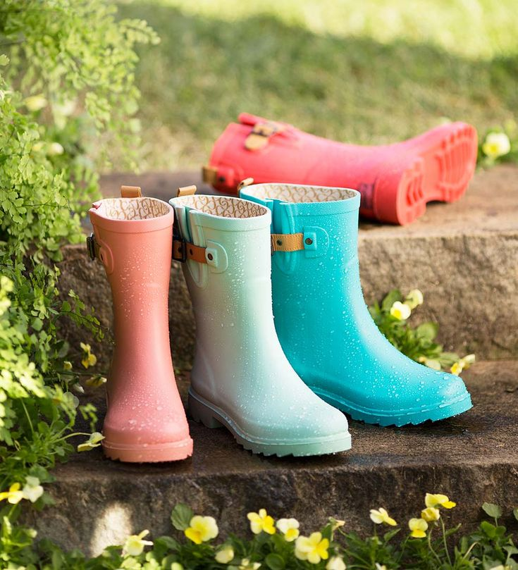 Chooka® Mid-Calf Rain Boots, Solid Colors | Boots