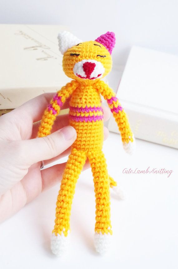 Crochet Amineko Cat crochet cat amigurumi crochet toy