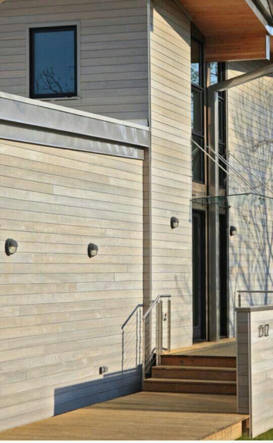 Driftwood color cedar siding home exterior pinterest - Best exterior stain for cedar siding ...