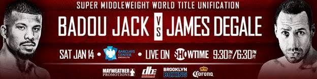 Badou Jack & James DeGale Meet in Super Middleweight Unification Showdown