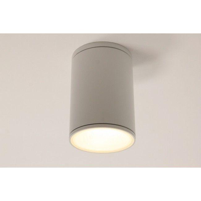 Plafondlamp / Opbouw spot 78600 Wit   Rond