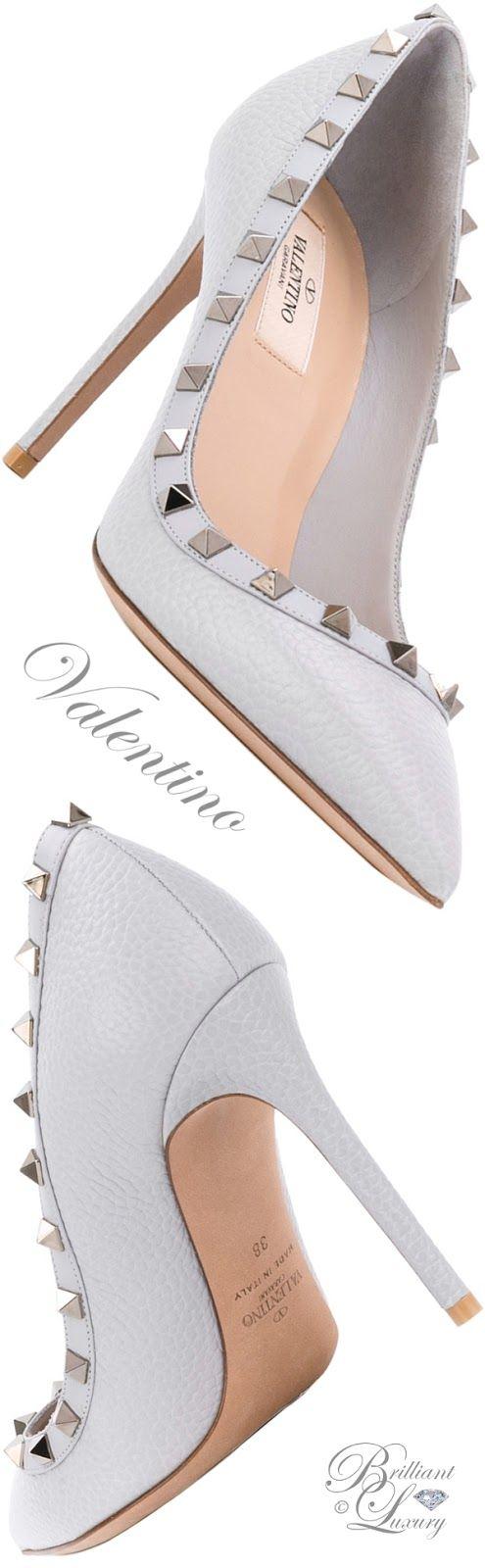 Brilliant Luxury by Emmy DE ♦ Valentino Garavani Rockstud Pumps